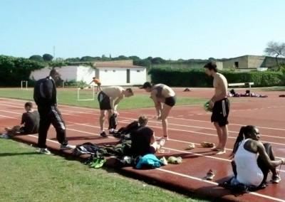 Gemeinsames Sprung-Training