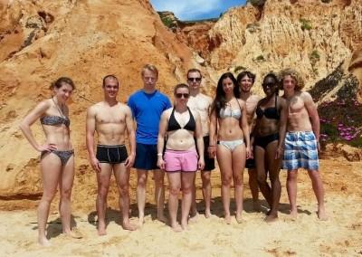 Deutsch-Britische Beach-Bodys ;-)