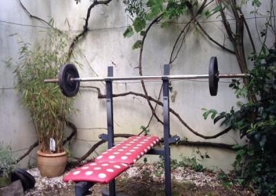Garten-Training