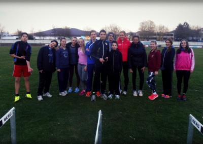 Jugend-Training mit Tilia