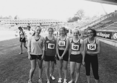 Mädchen-Sprint-Staffel