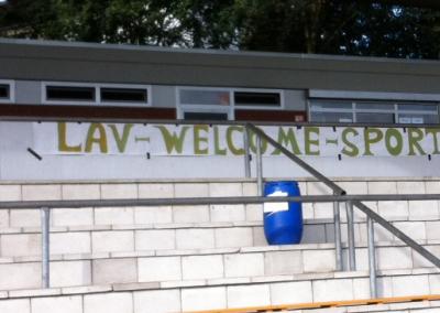 Unser Sportfest-Banner